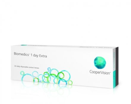 Biomedics 1 Day extra 30 linser/box